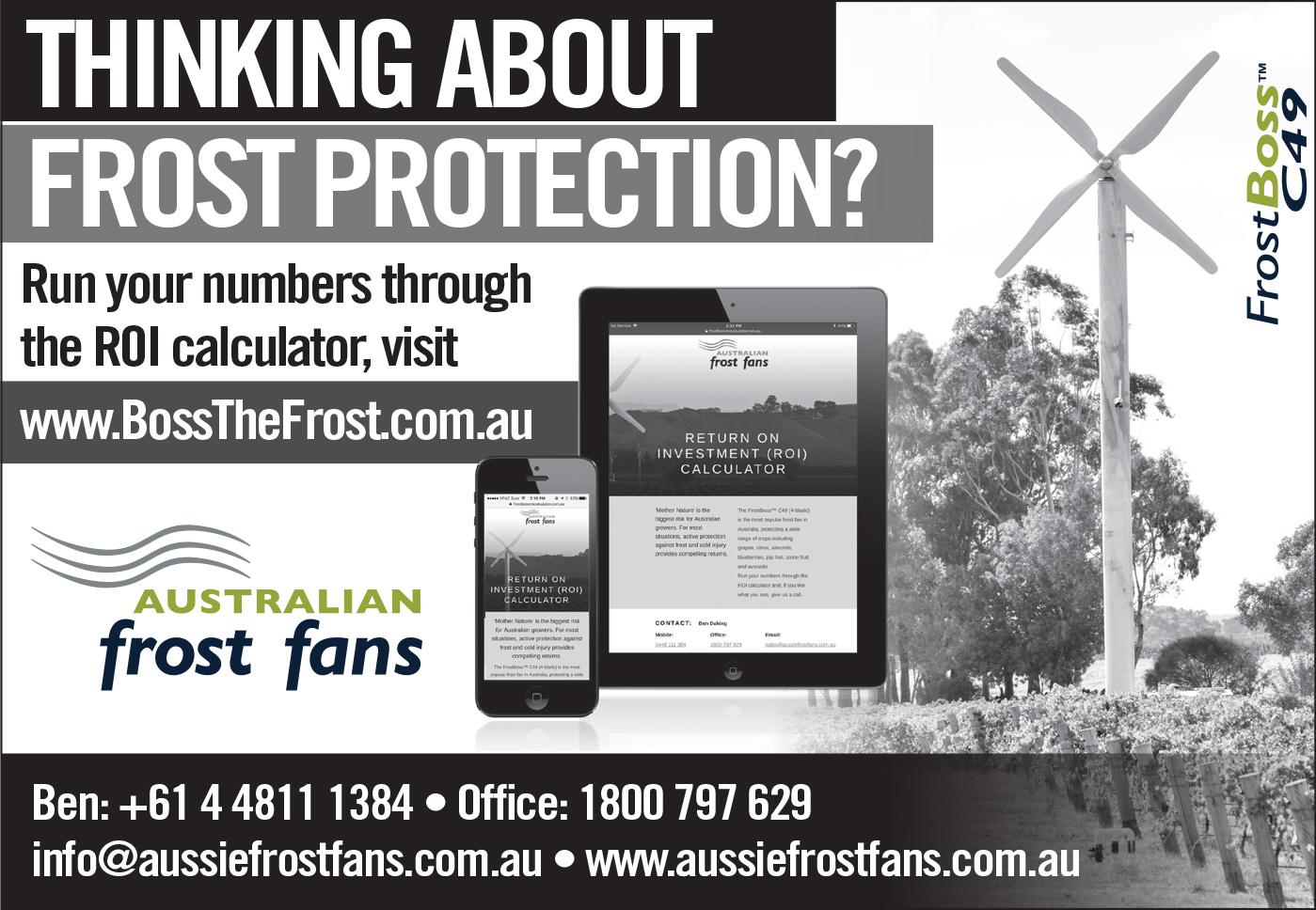 Aussie-Frost-Fans